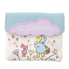 Winnie the Pooh & Piglet Tissue Pouch HAPPY RAINY DAY ❤ Disney Store Japan