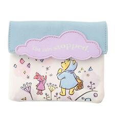 Winnie the Pooh & Piglet Tissue Pouch HAPPY RAINY DAY ❤ Disney Store Japan