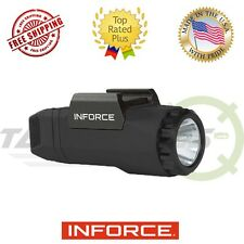 Inforce APL Pistol White Light 400 Lumens Generation 3 Ambidextrous Black A-05-1