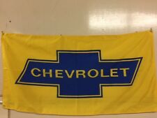 CHEVROLET MARQUEE STYLE BANNER SIGN OK VINTAGE BOWTIE 32 hot rod 350 sbc