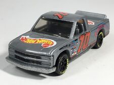 Hot Wheels 1996 Chevy 1500 Race Pickup Gray HW First Editions Series Malaysia