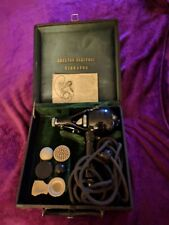 New listing Antique Shelton Electric Vibrator Massager in case vintage Quack medicine 1920's