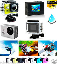 CAMARA DE VIDEO DEPORTIVA 1080P FULL HD SUMERGIBLE 30M ACUATICA FHD.