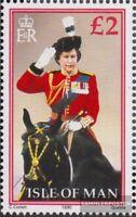 GB-Insel Man 421 (kompl.Ausg.) gestempelt 1990 Königin Elisabeth II.
