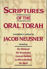Scriptures of the Oral Torah HC   Jacob Neusner