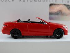 """Busch 41679 MB E-Klasse Cabriolet """"Sport"""" (2010) in rot 1:87/H0 NEU/OVP"""