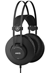 AKG Professional K52 Closed Back Over-Ear Recording Studio Mixing Headphones
