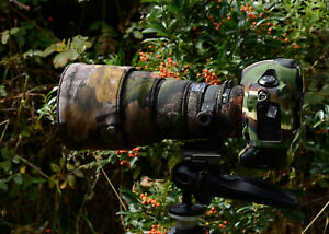 Sigma 300mm f2.8 DG HSM APO neoprene lens protection cover Forest Camo