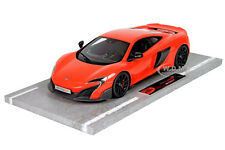 MCLAREN 675LT LONG TAIL DELTA RED LTD TO 92PCS 1/18 MODEL CAR BY BBR 1814C