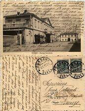Fossano, cuneo, Stazione Ferroviaria, ottimo stato 1915