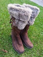 Top!!! Keilabsatz - Winter - Stiefel - Damen - ARIANE - Größe 39 - braun