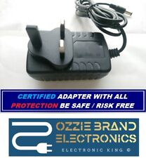 More details for to fit pure evoke-1 dab radio power supply adapter charger plug 12v 2a ac dc uk