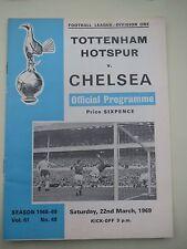 Tottenham Hotspur V  Chelsea    1968/9