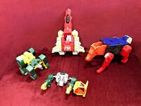 BIG LOT! VINTAGE 1980s BOOTLEG ACTION FIGURES TRANSFORMERS POWER RANGERS GOBOTS!
