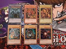 Yugioh Legendary Collection Promo inc. Egyptian God Cards LC01-EN001 TO EN006
