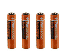4PCS  550mAh HHR-55AAABU Genuine New Panaosnic  Rechargeable AAA battery