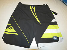 Quiksilver New Wave USA KTA6 charcoal  31 board shorts swimming trunks Mens surf