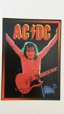 AC DC AC/DC concert rock hardrock music postcard POST CARD