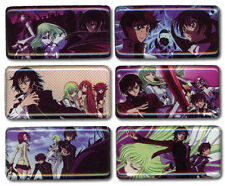 Code Geass Metal Magnet Set Anime Manga NEW