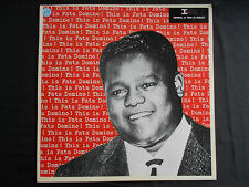 """FATS DOMINO   LP  PATHE-MARCONI  """" THIS IS FATS DOMINO """"  [France]  (RE)"""