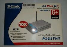 D Link AirPlus G+ DWL-2000AP+ WIRELESS ACCESS POINT