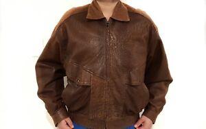 Daniel Hechter Mens Soft Leather Jacket Size XL