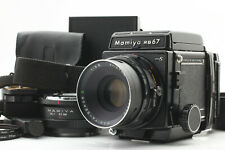 [N Mint] Mamiya RB67 Pro S w/ Sekor C 127mm f/3.8 + many accessories from JAPAN