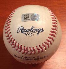 George Springer Game Used Houston Astros First Home Run Baseball 5/8/14 MLB HOLO