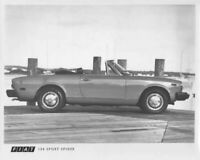 1978 Fiat 124 Sport Spider Press Photo 0021
