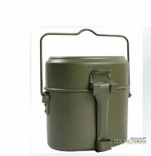 Survival Tin Mess Billy Can Cook Set Hiking Camping Light Camouflage Military