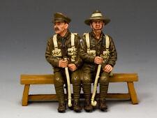 GA011-SA Sitting Anzacs Set #2 (South Australia) by King and Country