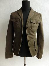 GANT Damenjacke Blazer Blaser Jacket oliv grün Gr. 38  98% Baumwolle 2% Elasthan