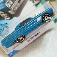 HW Series Tooned 9/10 BLUE '64 CHEVY IMPALA 58/250 Race Car Toy Hot Wheels 2020