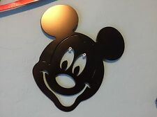 Plasma cut Large Black painted  Mickey Mouse metal mancave/ Wall Decor