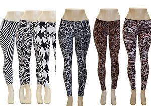 Women's Stretch Spandex Leggings Animal Print Geometric Print