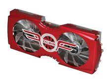 Zalman VF3000A VGA Cooler w/ 2 Blue LED Fans ATI AMD Radeon HD 5870 HD 5850 5830