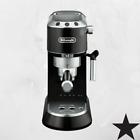 DeLonghi EC680BK Dedica 15-Bar Pump Espresso and Cappuccino Maker, Black photo