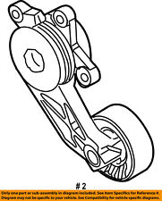 FORD OEM-Serpentine Drive Fan Belt Tensioner 9L8Z6B209A