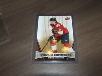 2018-19 Upper Deck Series 1 Rookie Commence # RC-HB HENRIK BORGSTROM