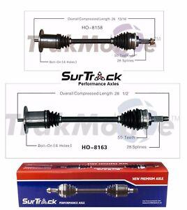 For Honda S2000 RWD 00-09 Pair of Rear CV Axle Shafts Assemblies SurTrack Set