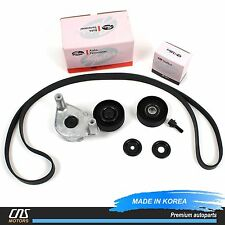 V-Belt & Tensioner Kit for 04-10 Sonata Tiburon Tucson Optima Sportage 2.7L⭐⭐⭐⭐⭐