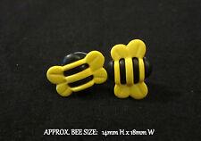 Bee Earrings-Bumble Bee Earrings-Honey Bees Earrings-Hypoallergenic Post Stud