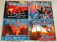 8 CD SAMMLUNG - FETENHITS - THE REAL CLASSICS - 1 2 3 4 - U2 QUEEN ÄRZTE TOTO