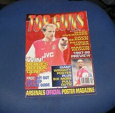 ARSENAL TOP GUNS MAGAZINE NUMBER 10 SUMMER 1997 - IAN WRIGHT/MARC OVERMARS
