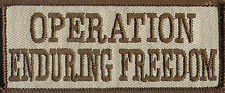 OPERATION ENDURING FREEDOM VEST PATCH PATCHES NEW