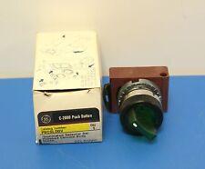 GE C-2000 Push Botton P9CSLDOV  Illuminated Selector Switch (8708)