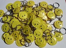 "36 SMILE KEY CHAIN 1.5"" LOT OF 3 DZ CARNIVALS, PARTY TOYS, PARTY FAVORS, VENDING"