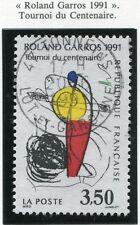 STAMP / TIMBRE FRANCE OBLITERE N° 2699 ROLAND GARROS SPORT / TENNIS