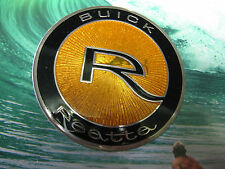 88-91 BUICK REATTA LARGE HOOD EMBLEM ORNAMENT FACTORY EXCELLENT SHINE AND COLOR