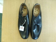 Mens Shoes Penn & Simmons handmade black lace-ups, size UK 10, EU 44.5 3292